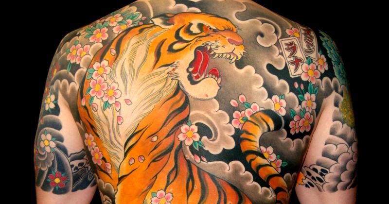 Irezumi, a arte da tatuagem japonesa